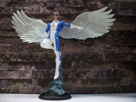 Angel Comiquette Statue2 by Minas-Tirith-Hakan