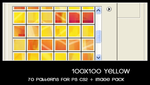 100x100 yellow by deviantales