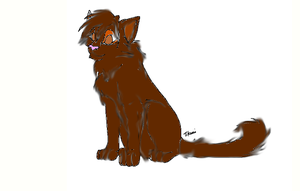 brambleclaw by shawdowmoon