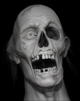 Zbrush Zombie Doodle 2 by FoxHound1984
