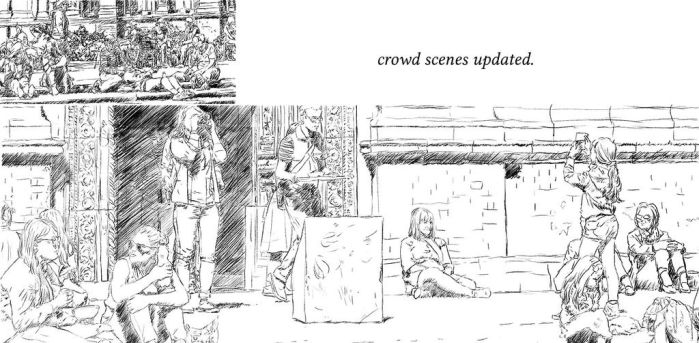 Crowd scenes updated by deldesanges