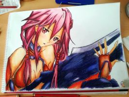 Guilty crown - Inori by aBunny15