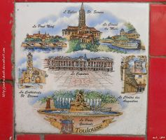 Toulouse tile by andreshanti