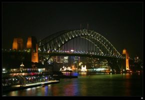 Sydney Harbour Bridge by d---b