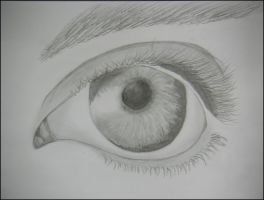Realistic eye by 1une1
