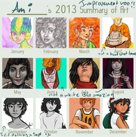2013 Summary of Art by amivan