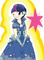 Twilight Sparkle Gala by Unicornicopian