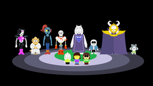 Underpark (South ParkxUndertale) by hookls