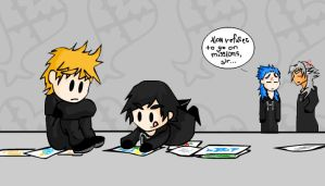 Xion Keeps On Drawing by Laikkuseia