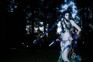Final Fantasy X Shiva Cosplay by Neo-Shadow-Bat