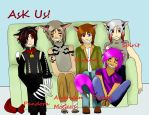 Ask 5 Cheshires by Nymm-Kirimoto