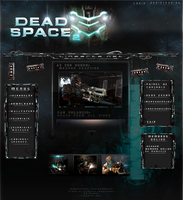 Dead Space Template by iPauloDesigner