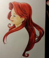 The little mermaid by Nalys