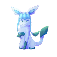 Glaceon [Request] by CynicalAshhole