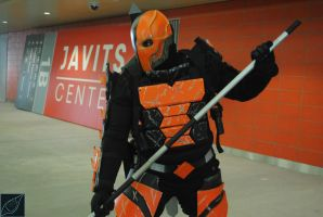 Deathstroke MiniShoot NYCC2014 by wolfatheart13