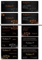 business cards and discount cards by MpaKyC