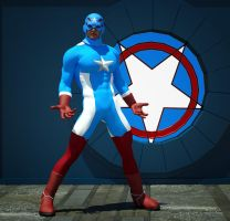 Captain USA second skin textures x M4 by hiram67