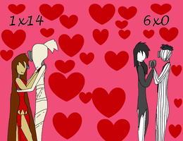 1x14 6x0 are romantic love by TakAshleyRed