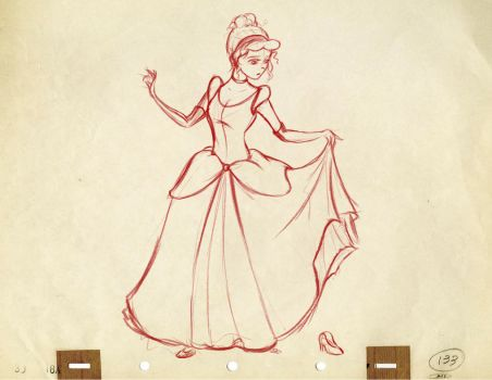 Cinderella Sketch by Domiticus