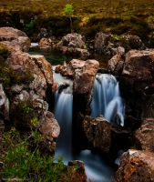 Bubbling tumbling cascade by LordLJCornellPhotos