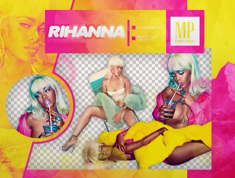PACK PNG 834 | RIHANNA by MAGIC-PNGS