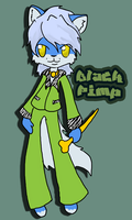blackfurrynight Pimp doodle by sushi-just-ask