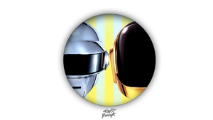 Daft Punk circle wallpaper by Browniehooves