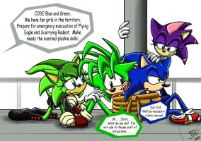 .:REQUEST:. CODE Blue + Green by SonicFF