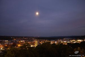 Dubuque at Night by AliEnX7587