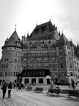 Chateau Frontenac by NightRiver16