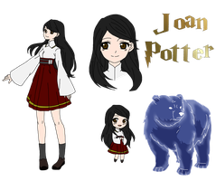 Joan Potter by yinyangswings