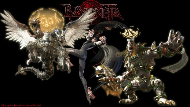 Bayonetta Custom Wallpaper 3 by mkfan786