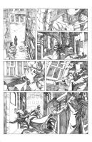 Gotham by Gaslight Comic Page by badwhitney
