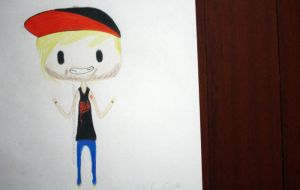 Kyle Even // Breathe Carolina Chibi by MissBillK