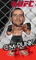 UFC.M.PUNK!!! by abnormalchild