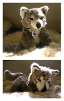 Build-A-Bear - Wolf Plush by The-Toy-Chest