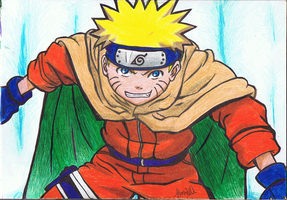 Naruto caped by ConkerTSquirrel