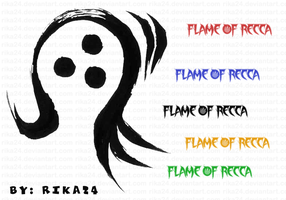 Flame of Recca Brushes by flame-of-recca-club