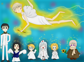 APH: With a Little Magic... by Me-Oh-My-Michelle