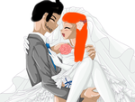 arabellas and dereks wedding by PinkzSprinklezz