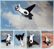 Pokemon - Dark Latias Necklace Charm by YellerCrakka