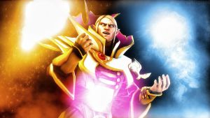 Invoker Poster (The International 4) by AngryRabbitGmoD