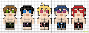 tiny free! swim team pattern by lpanne
