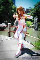 Dead or Alive cosplay: Kasumi by Neferet-Cosplay