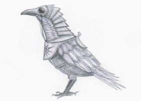 armored crow by Sarippus