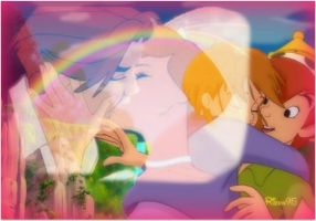 Jane and Peter Pan by Ribon95