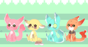 Gummi Shark Puppies 2 .:Closed:. by Pieology