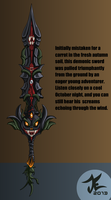 Demon Sword by TrizkialEnigma