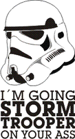Storm Trooper Vector by greenmousa