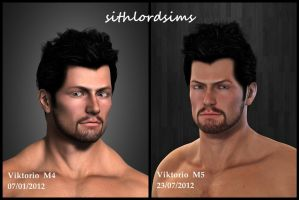 Viktorio-face test by sithlordsims